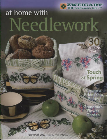 At Home with Needlework - February 2007
