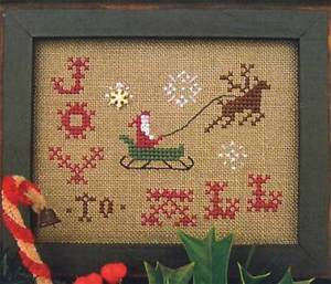 Merry Noel Collection - Joy to All - Cross Stitch Pattern