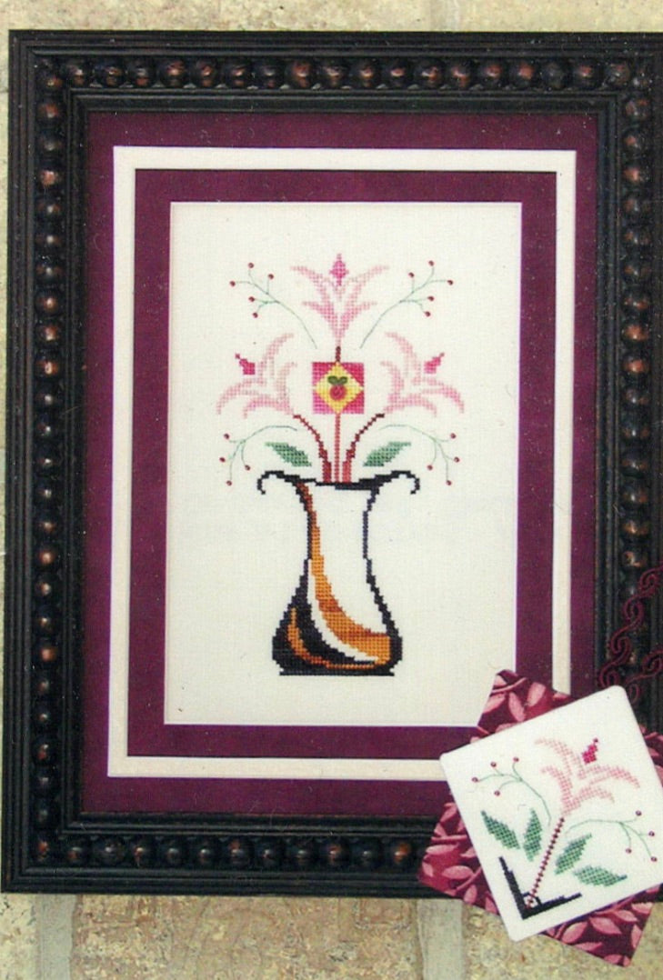 Burst Into Blooms - Cross Stitch Pattern