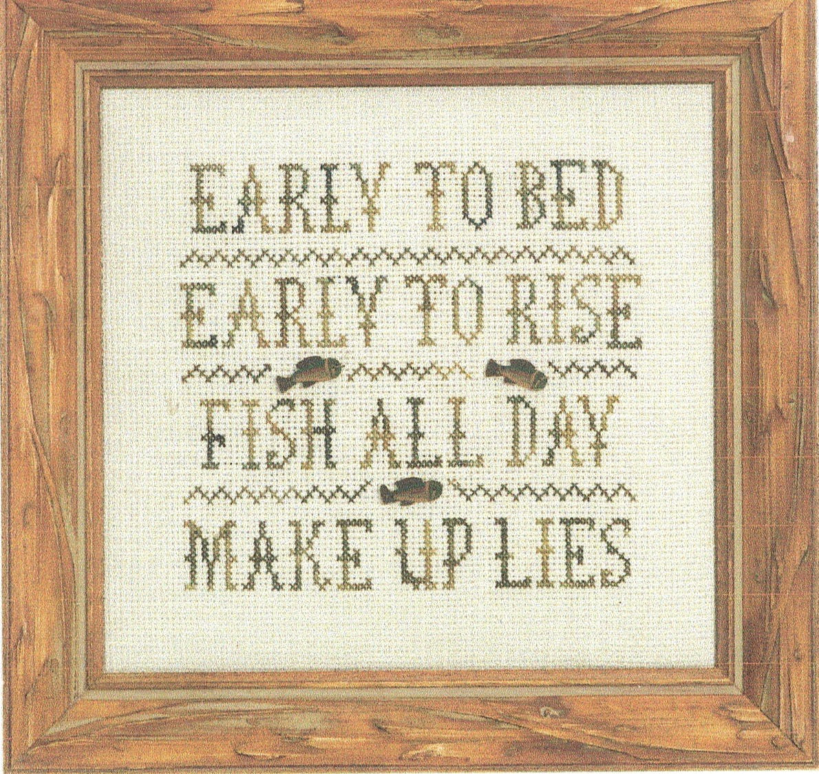 Fish All Day - Cross Stitch Pattern