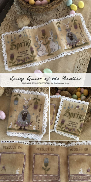 Spring Queen of the Needles - Cross Stitch Pattern