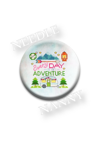 Every Day is an Adventure Needle Nanny