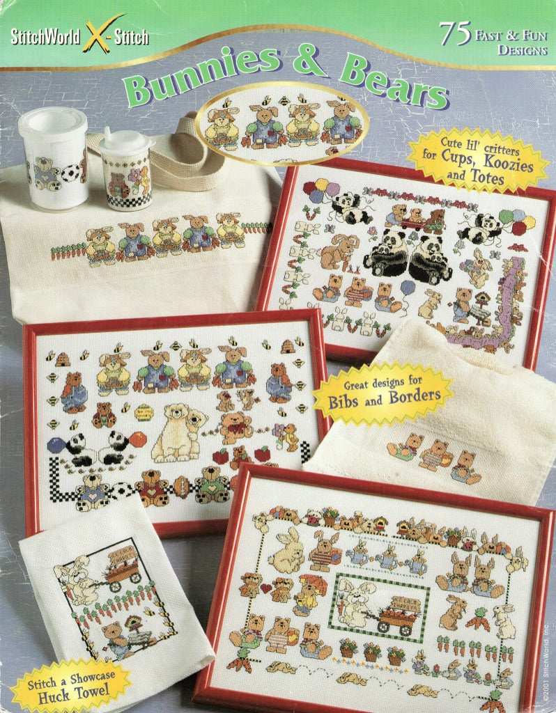 Bunnies & Bears - Cross Stitch Pattern