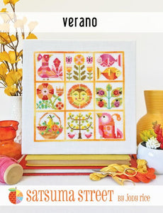 Verano - Cross Stitch Pattern