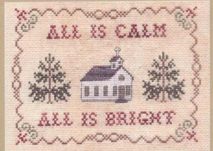 All is Calm - Cross Stitch Pattern