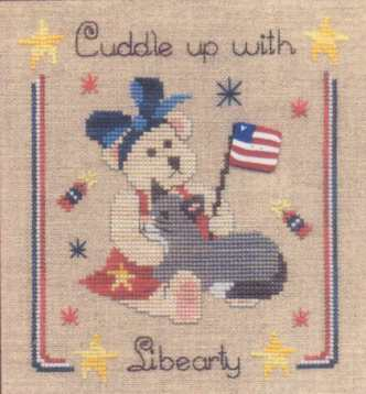 Cuddle Up with Libearty - Cross Stitch Pattern