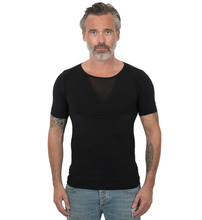 Load image into Gallery viewer, Holdningstrøje Sort T-shirt