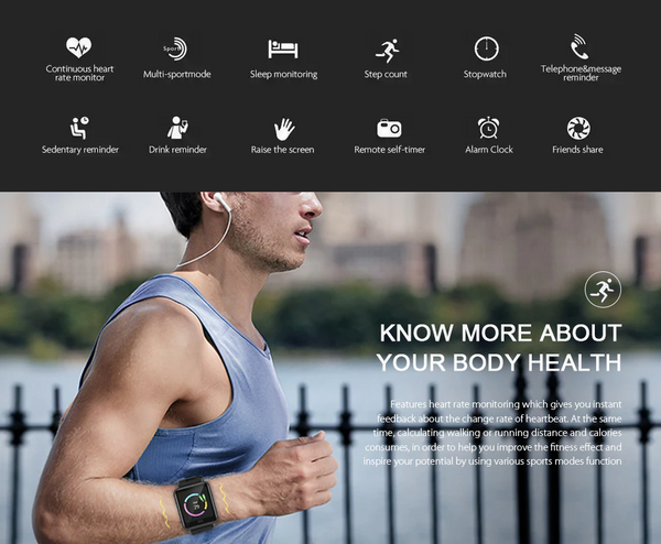 Sportech Smart Watch | ADOGADGETS