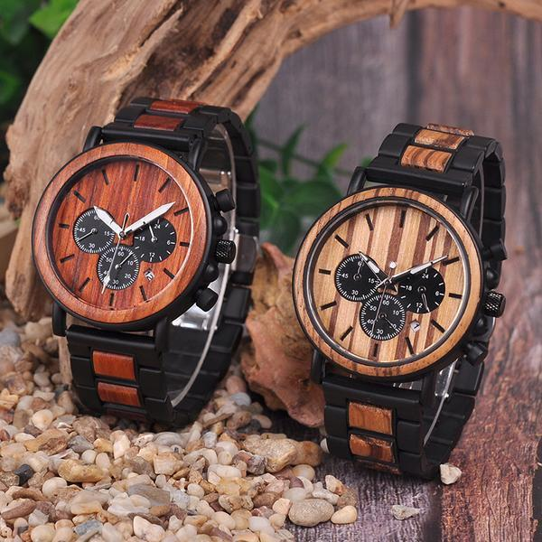 Bambu Quartz Wooden Watch | ADOGADGETS