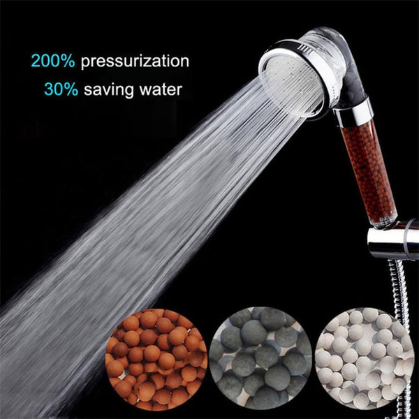 EcoShower Hand shower w/ Water Treatment | ADOGADGETS