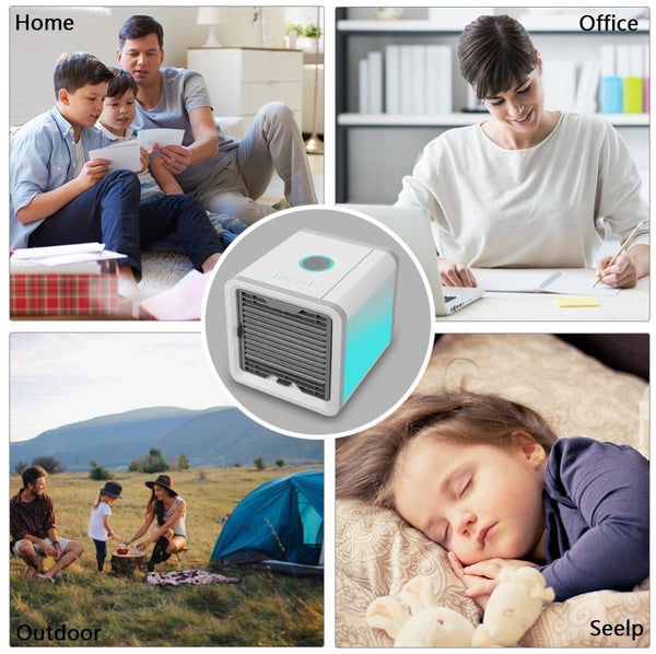 Cube Air Mini Air Cooler | ADOGADGETS