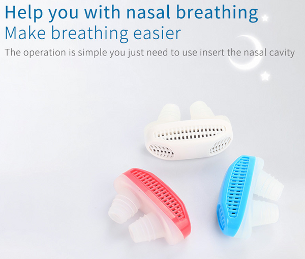 Anti-Snor & Air Purifier Nose Guard | ADOGADGETS