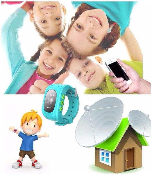 SOSKids Children's Smart Watch w/ GPS | ADOGADGETS