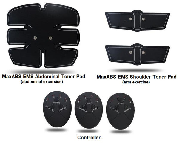 MaxABS EMS Abdominal Toner | ADOGADGETS