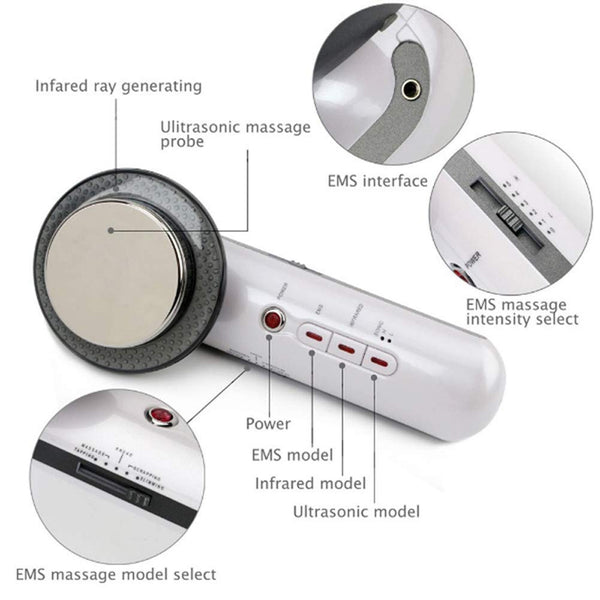 Ultrasonic Anti Cellulite Fat Burner | ADOGADGETS