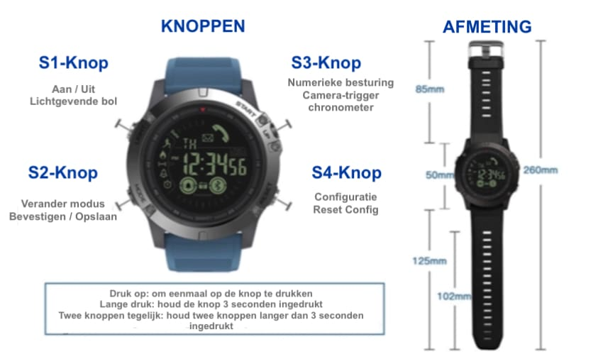 Smartwatch Tactical Nl