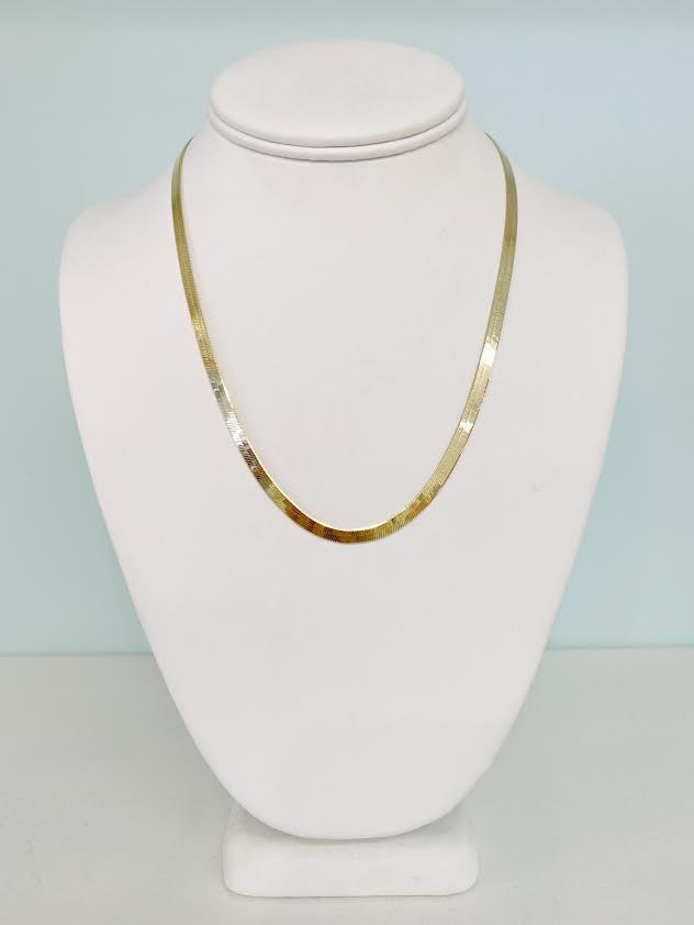Herringbone Wide Necklace