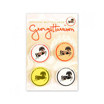 George Harrison Horse Button Packs