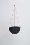 "10"" Capra Designs Large Dome Hanging Pot in Midnight"