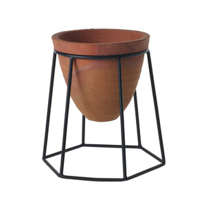 "8"" Terracotta Planter Stand Short"