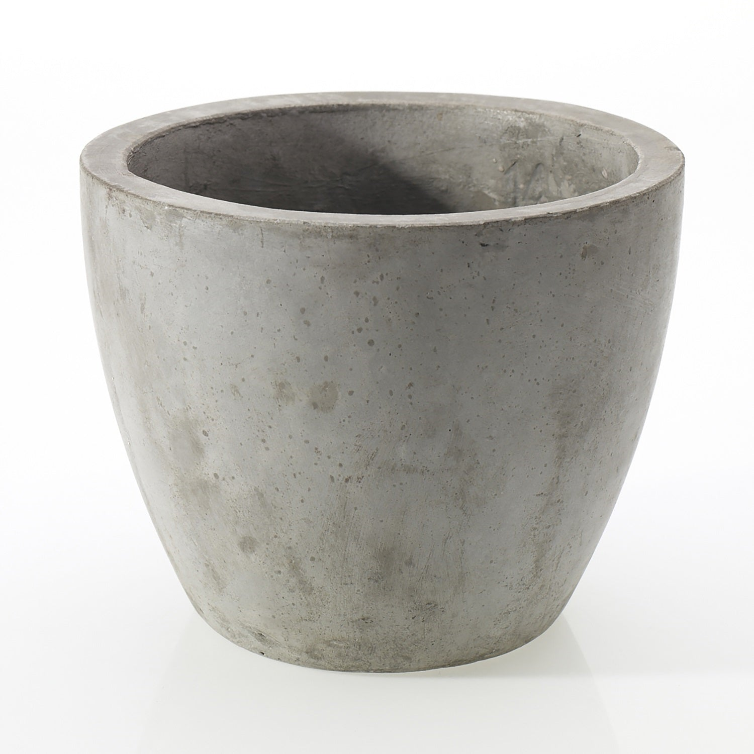 "7"" Concrete Pot in Grey"