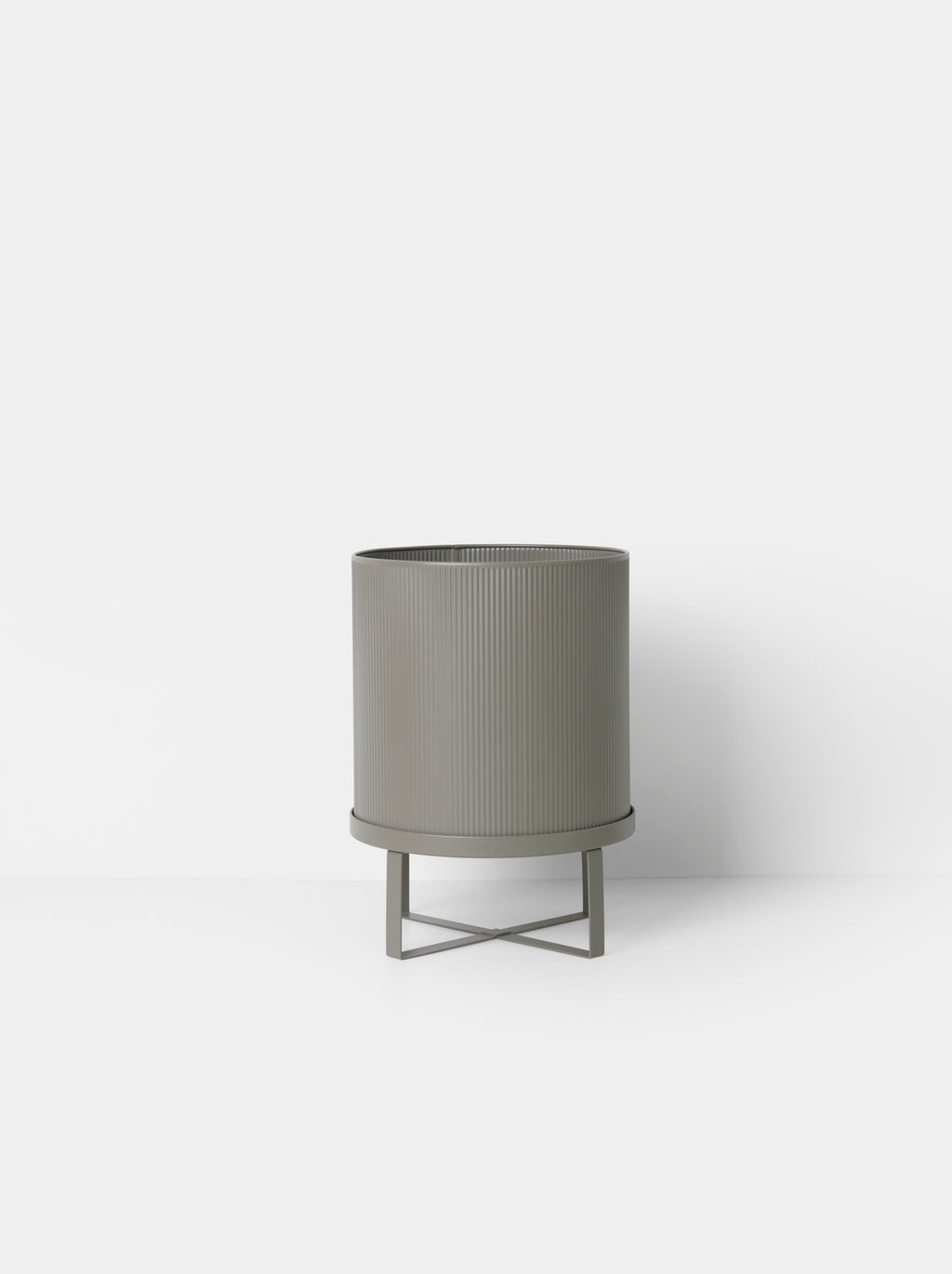 "11"" Ferm Living Bau Pot in Warm Grey"