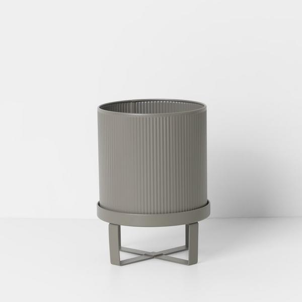 "7"" Ferm Living Bau Pot in Warm Grey"