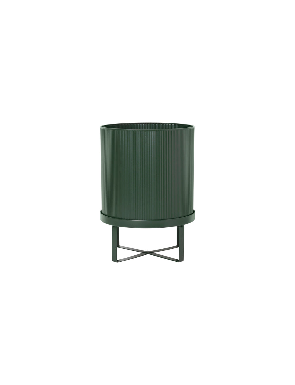 "11"" Ferm Living Bau Pot in Dark Green"