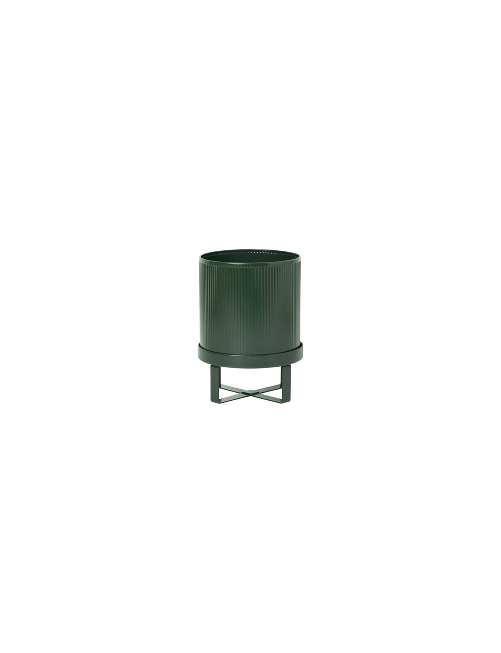 "7"" Ferm Living Bau Pot in Dark Green"