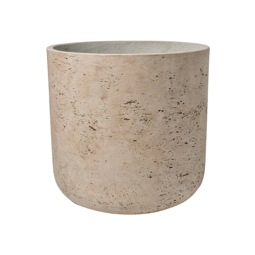 "12"" Charlie Planter in Washed Grey"