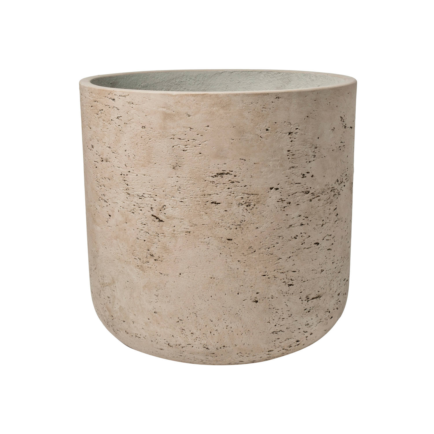"16"" Charlie Planter in Washed Grey"