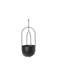 "7"" Ferm Living Hanging Deco Pot in Black"