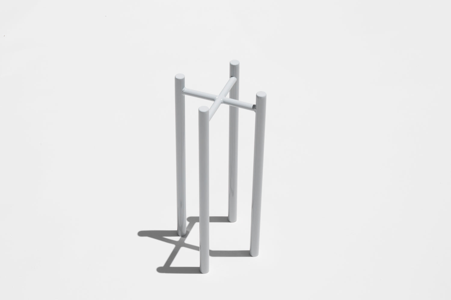 "8"" Planter Stand in Pale Grey"