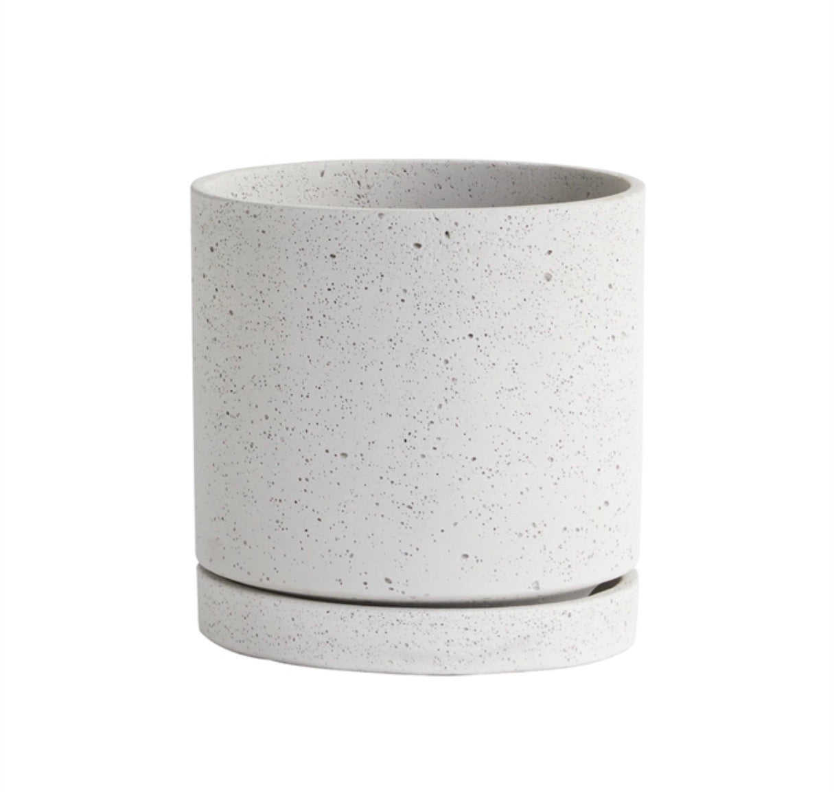 "13"" Poolside Planter in White"