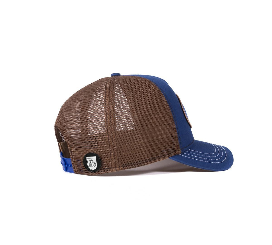 Gorra Trucker Origins Blue Navy - Oblack Caps