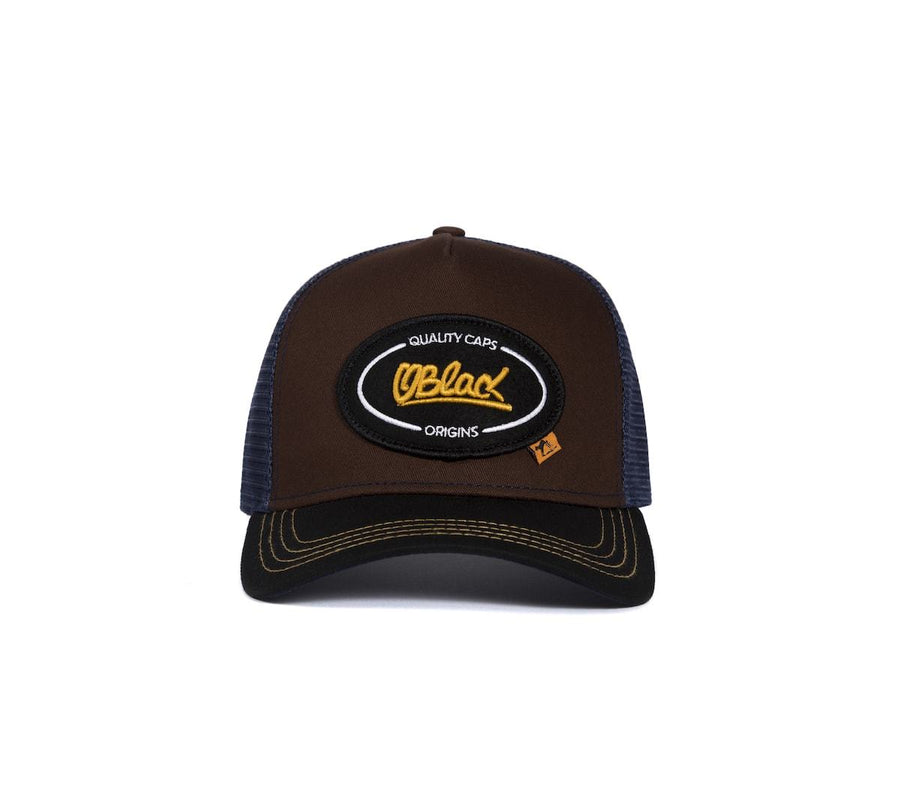 Gorra Trucker Origins Brown - Casquettes Oblack