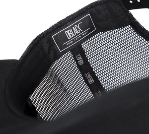 baseball cap with mesh Oblack
