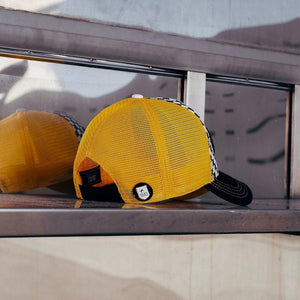 Gorra Trucker Origins Duality Yellow - Oblack Caps