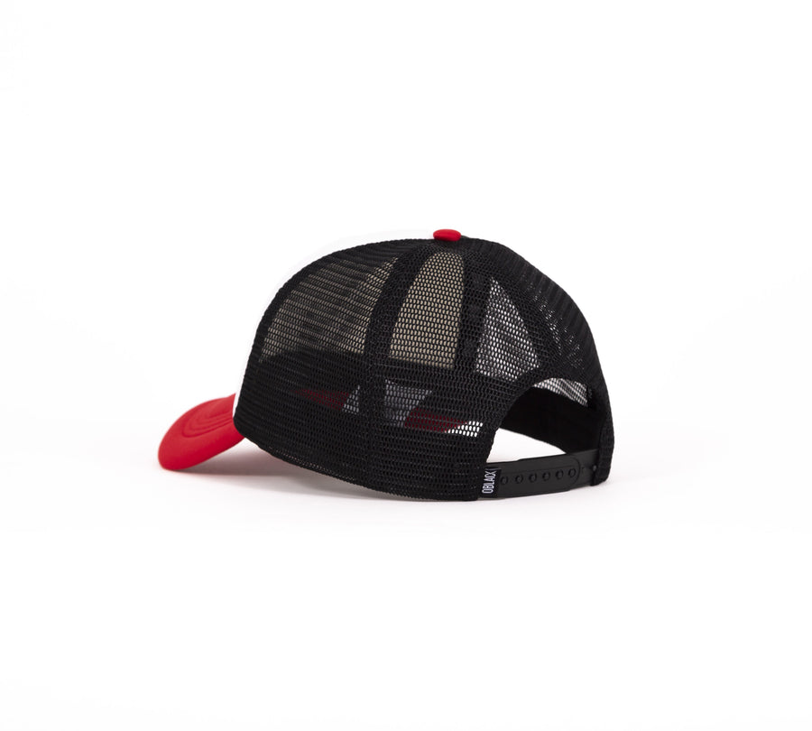 Trucker Red Memphis - Oblack Caps