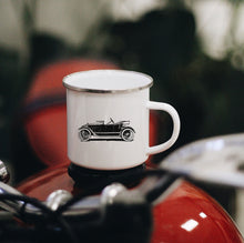 Load image into Gallery viewer, Automobile Enamel Mug