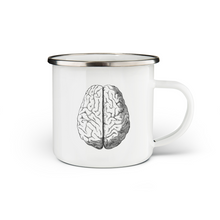 Load image into Gallery viewer, Brain Enamel Mug