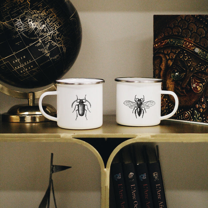 Entomology Mugs Set