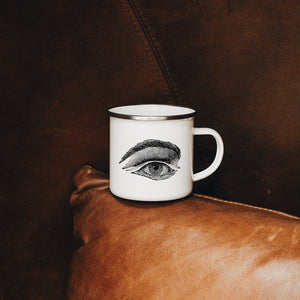 Eye Enamel Mug