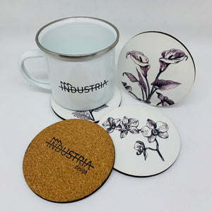 Flowers Coasters Set