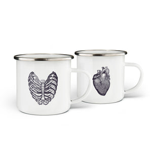 Hearts' Shape Mugs Set