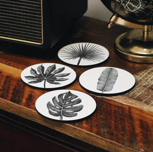 Leaves Coasters Set