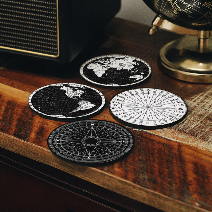 Maps Coasters Set
