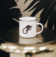 Load image into Gallery viewer, Monkey Enamel Mug