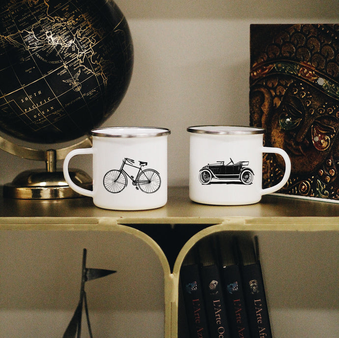 Old Transport Mugs Set