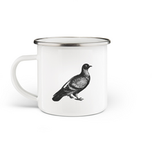 Load image into Gallery viewer, Pigeon Enamel Mug